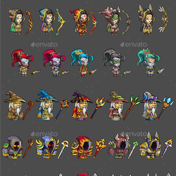 25 RGP Game Characters