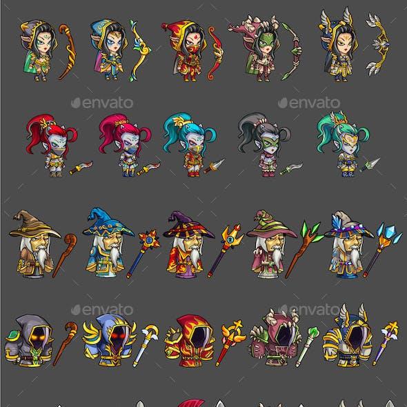 25 RGP Game Characters
