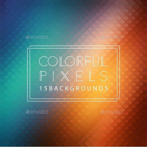 Pixels | Colorful Backgrounds