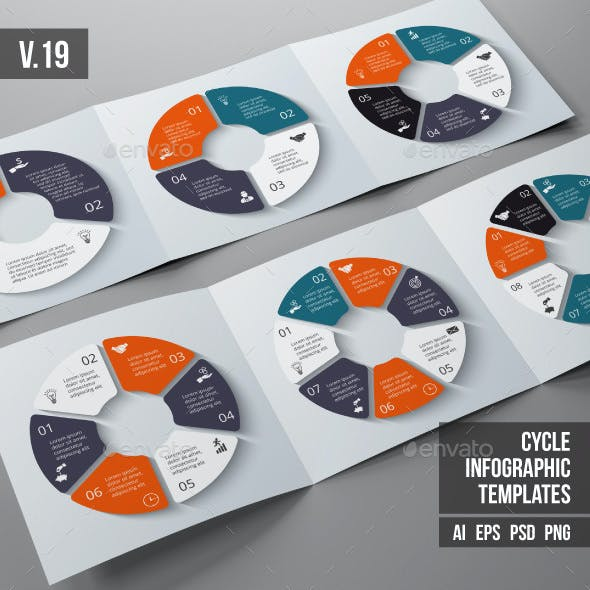 Infographics template set v.19