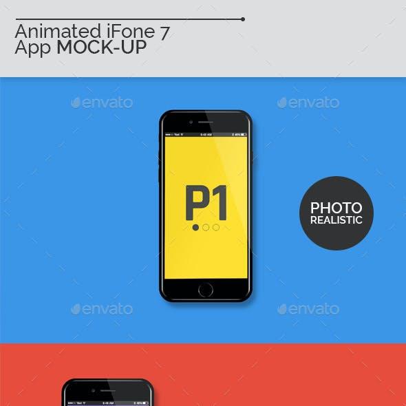 Animated iFone 7 Mock-Ups