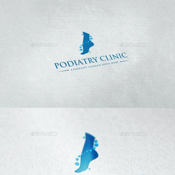 Podiatry Clinic Logo