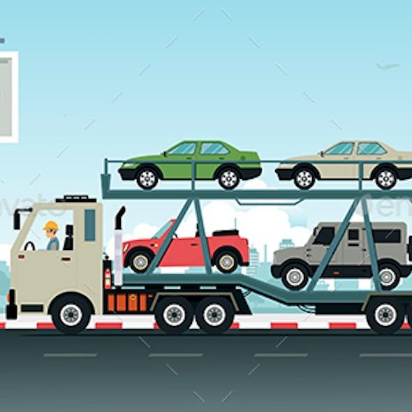 Truck Transport Vehicles