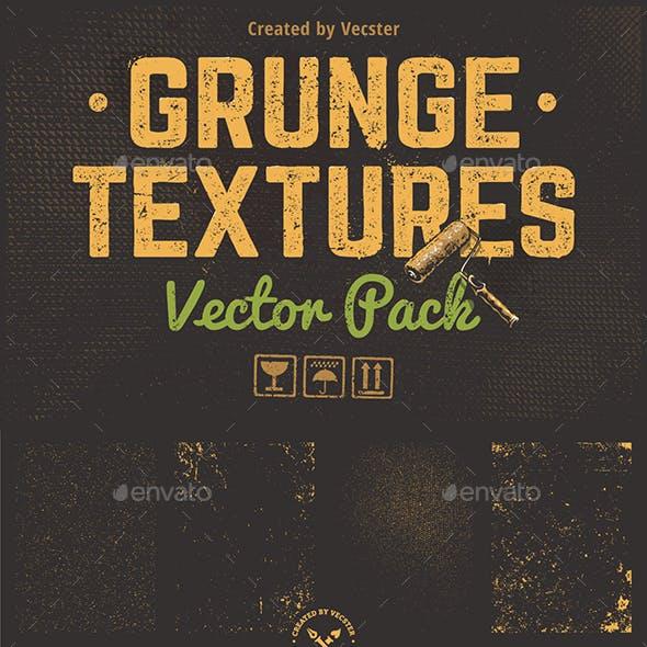 Grunge Textures Vector Pack
