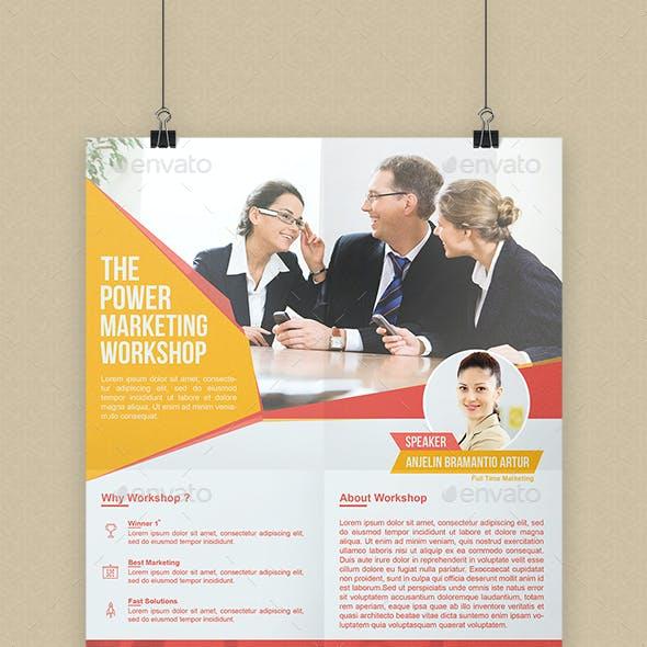Marketing Workshop Flyer