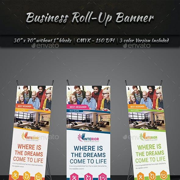 Roll-Up Banner | Volume 2