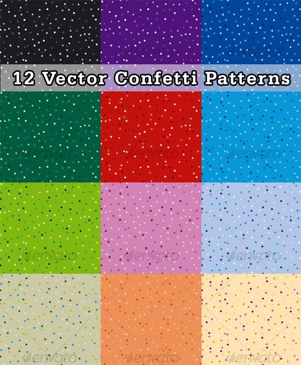 Confetti Pattern - Patterns Decorative
