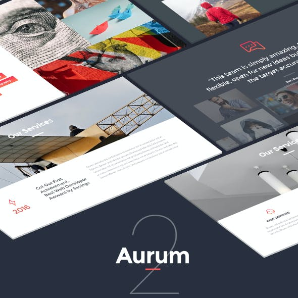 Aurum 2 - Creative Keynote Template