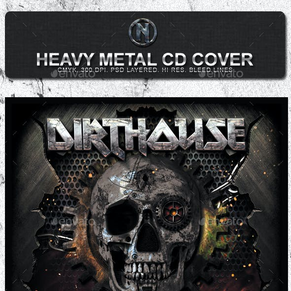 Dirthouse - Heavy Metal CD Cover