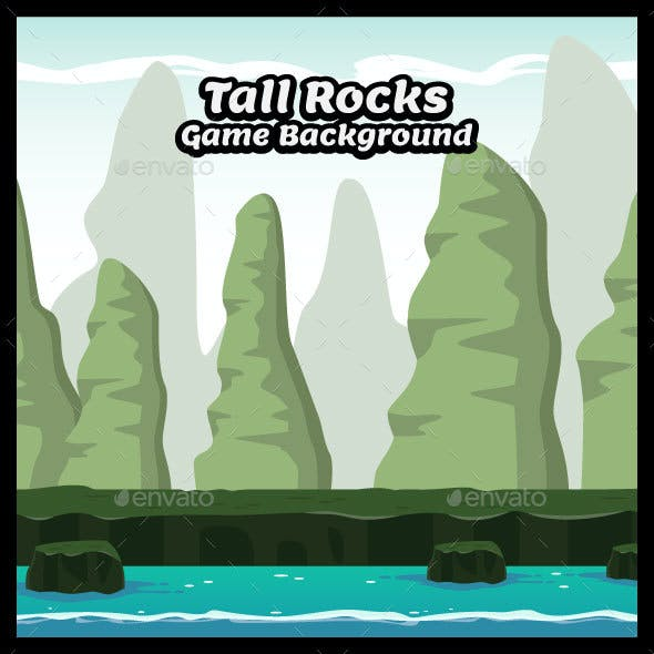 Tall Rocks Hill Game Background