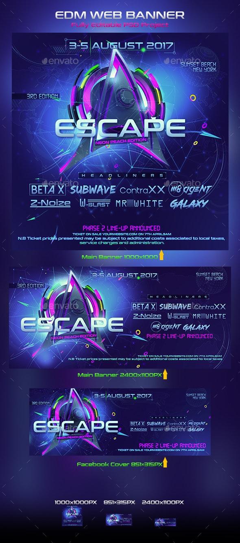 EDM Web Banner