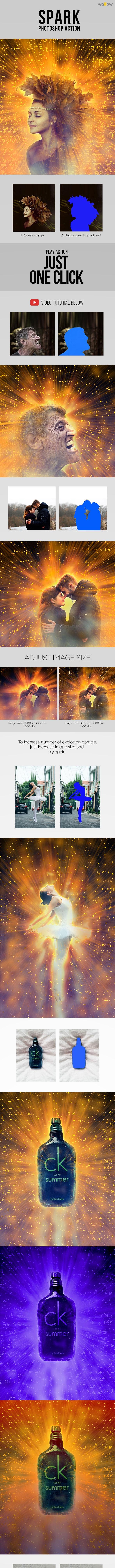 Spark Photoshop Action - Actions Photoshop