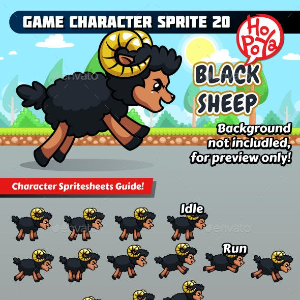 Game Character Sprite 20