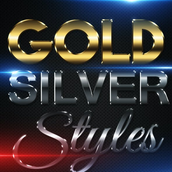 Gold & Silver styles