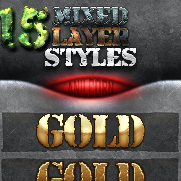 15 Mixed Layer Styles