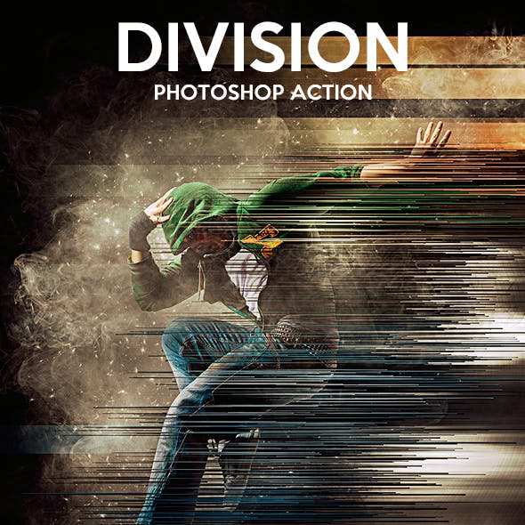 Division Photoshop Action