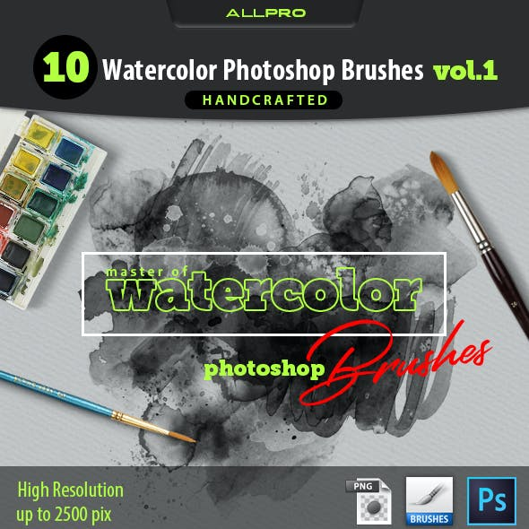 Master of Watercolor Brushes Vol.1