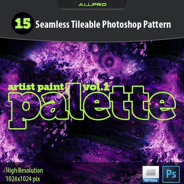 Artist Paint Palette Vol.1
