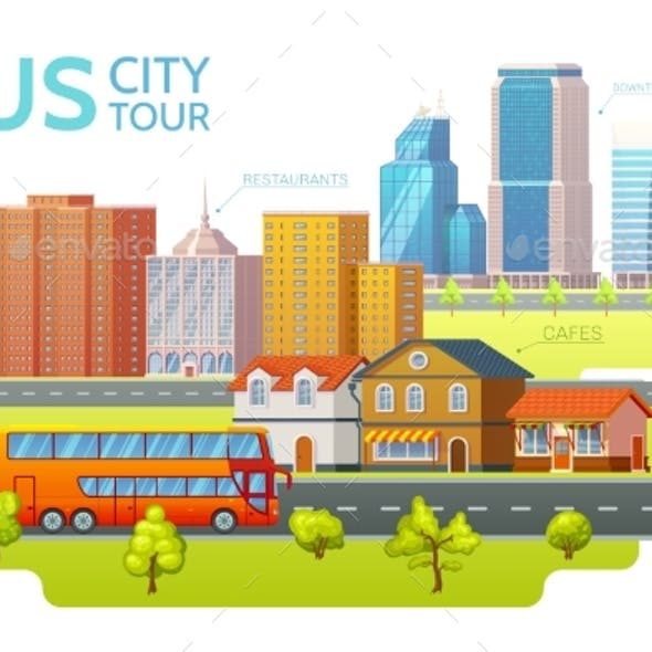 Colorful Sightseeing Tour Template