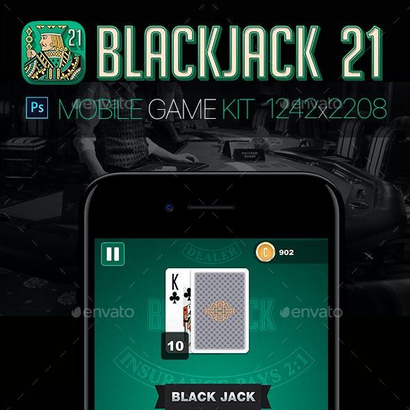 Blackjack 21 Game Kit