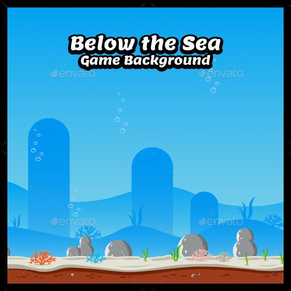Below the Sea Game Background