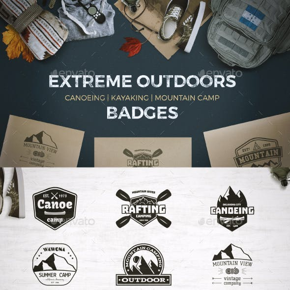 9 Outdoor Badges and Labels.