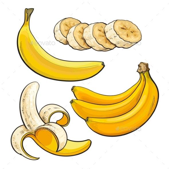 Bananas - Food Objects