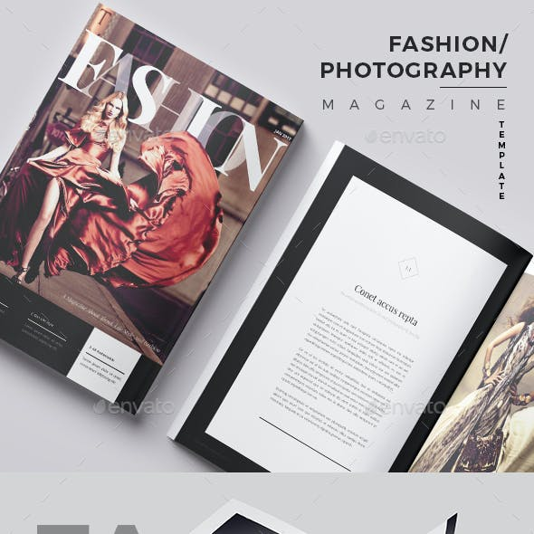Fashion/Photography Magazine