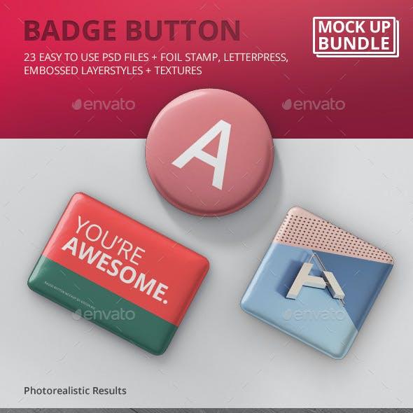 Badge Button Mockup Bundle