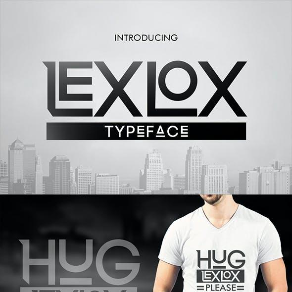 Lexlox Typeface