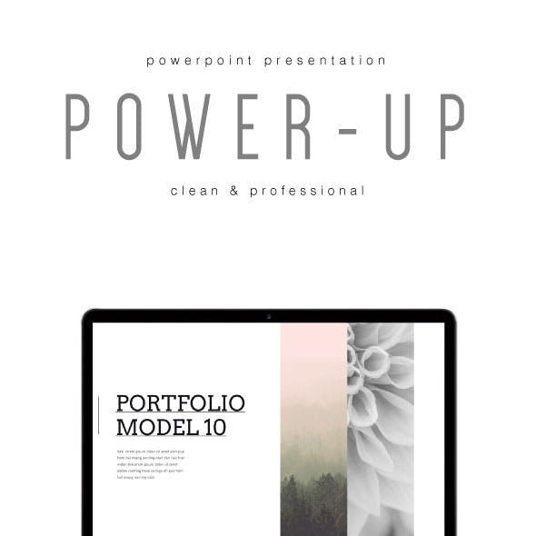 POWER UP - Multipurpose PowerPoint Template (V.36)