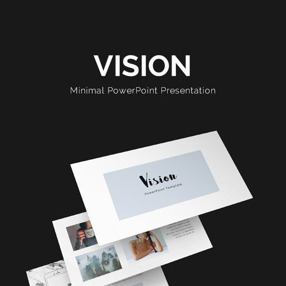 Vision Minimal PowerPoint Template
