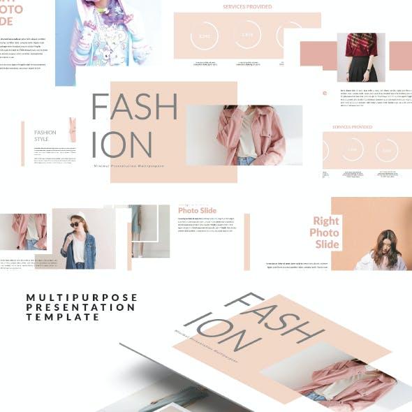 Pinky Fashion Template Keynote