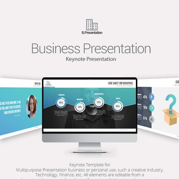 Business Presentation Keynote Templates