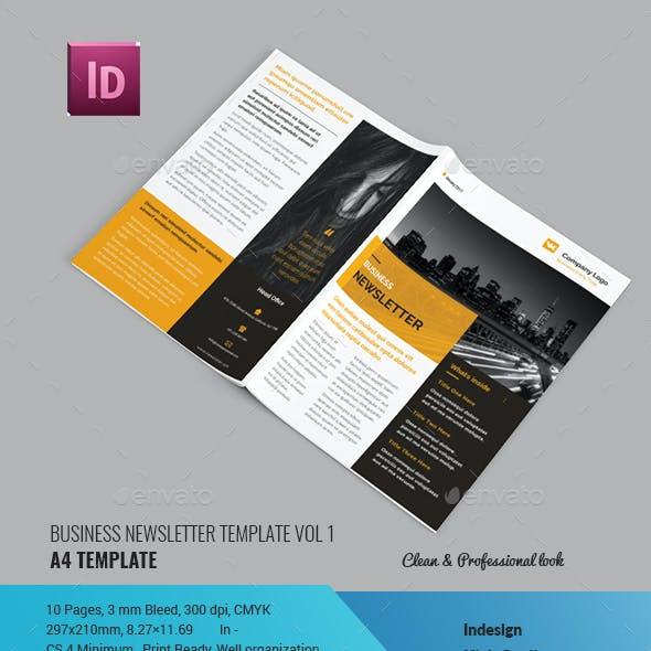 Business Newsletter Vol 1