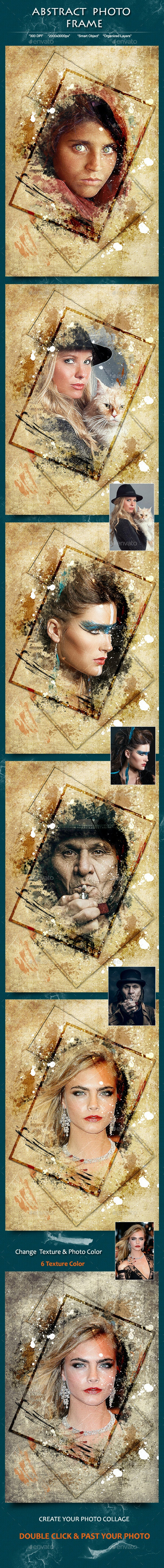 Abstract Photo Frame - Photo Templates Graphics