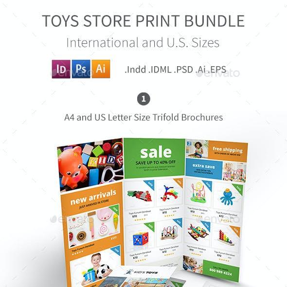Toys Store Print Bundle