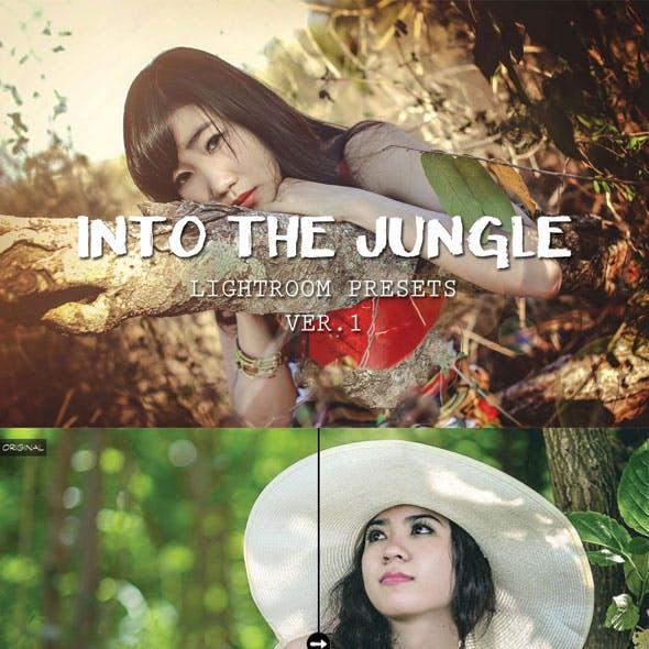 Into The Jungle Lightroom Presets
