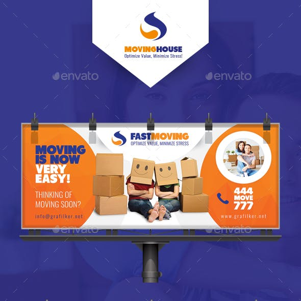Moving House Billboard Templates