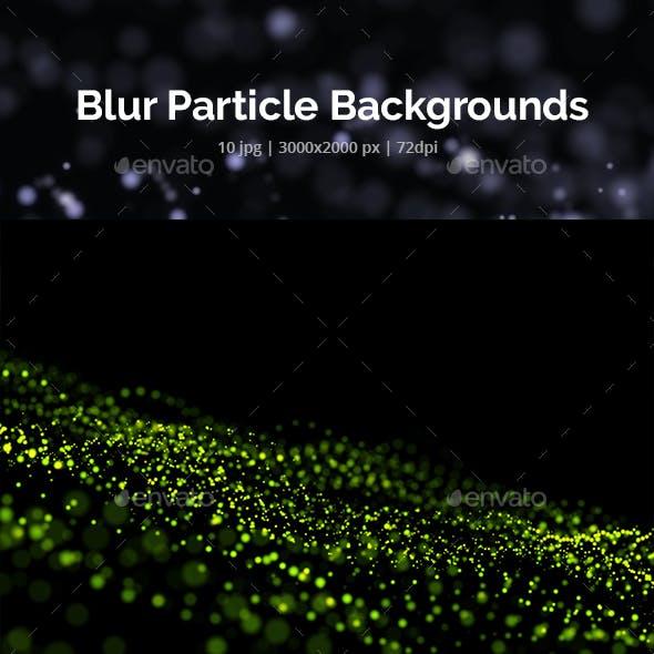Blur Particle Backgrounds