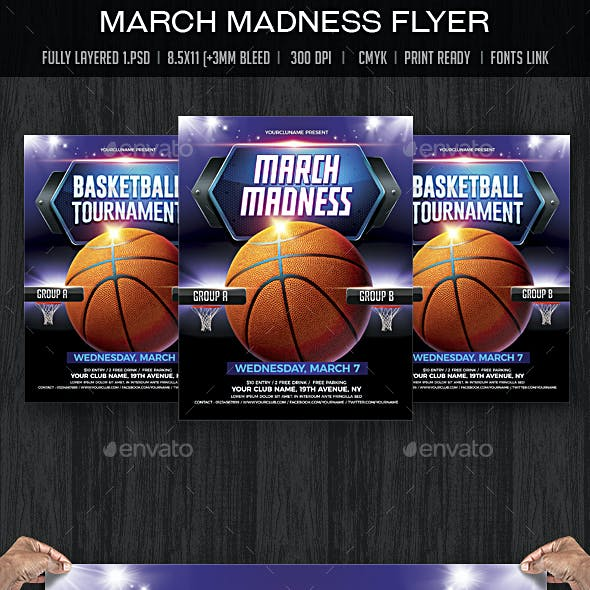 March Madness / Basketball Madness