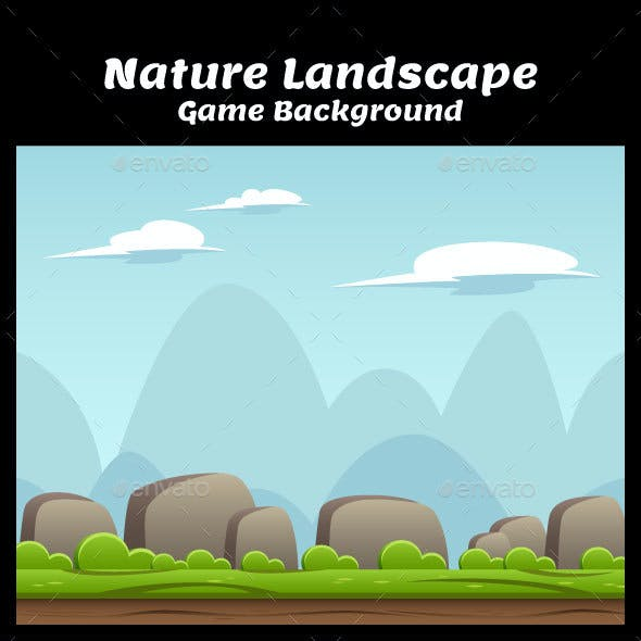 Nature Landscape Game Background