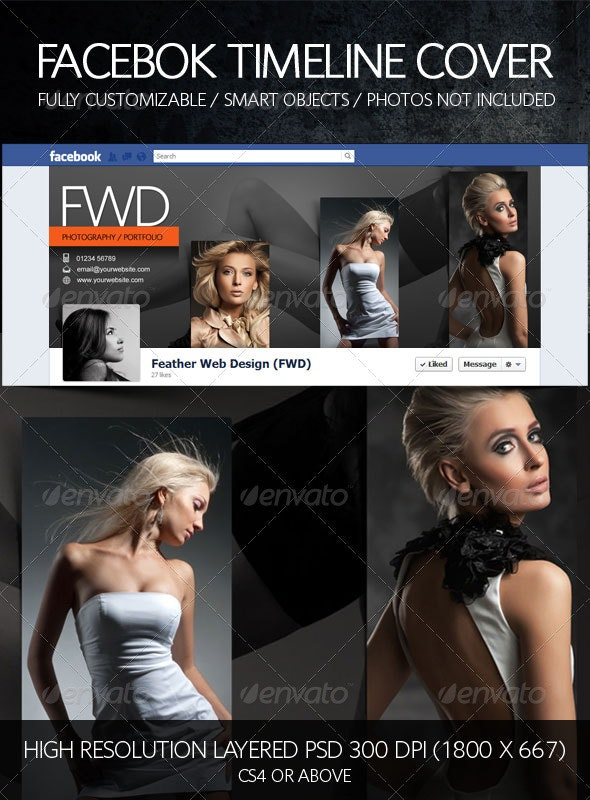 Facebook Timeline Cover - Photography / Portfolio - Backgrounds Graphics