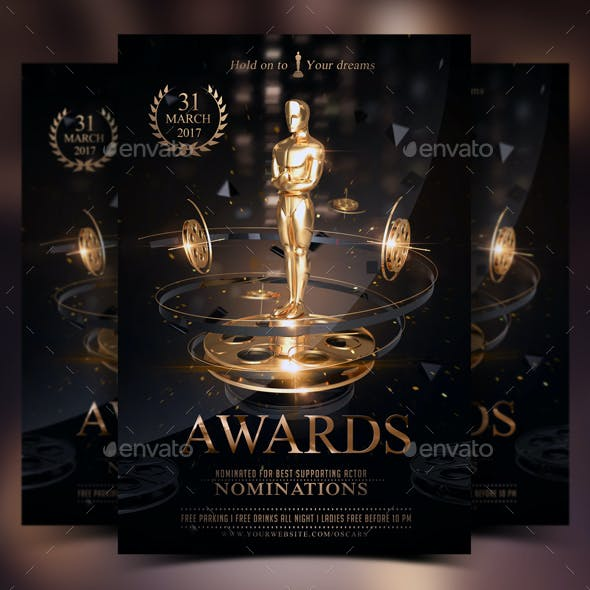 The Golden Awards Flyer