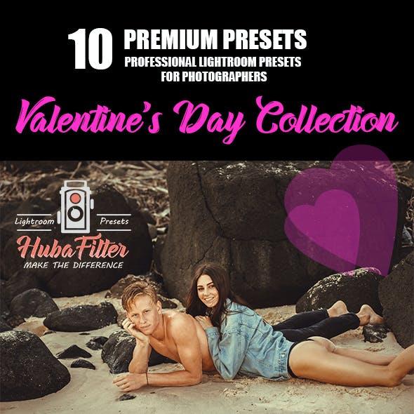 10 Valentine's Day Lr Preset Collection