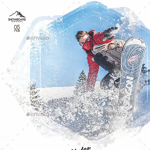 Snowboard Festival Flyer VOL 2