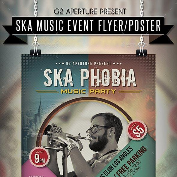 Ska Music Event Flyer / Poster