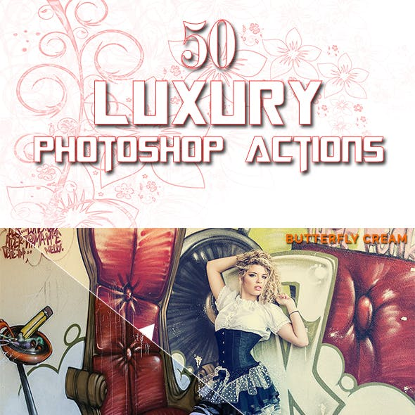 Luxurios Photoshop Actions