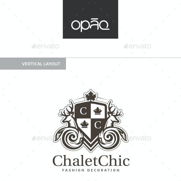 Chalet Chic Crest Logo