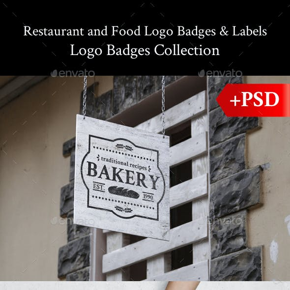 Restaurant and Food Logo Badges & Labels